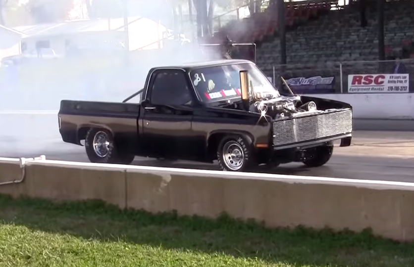 Crazy Cummins Powered Chevy C10 Drag Truck Chevytv