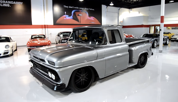 Restomod Done Right 1961 Chevy Apache Is Sure To Turn Heads Chevytv