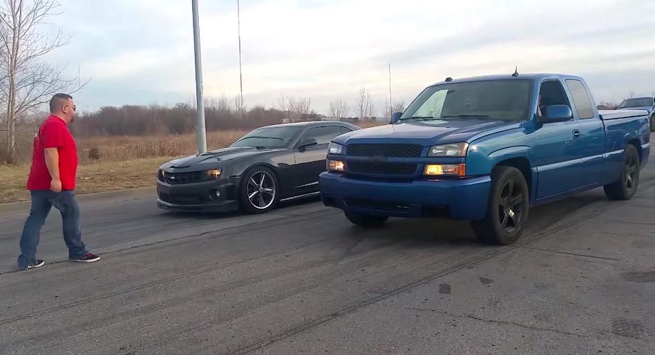 Camaro Versus Silverado Square Off Chevytv