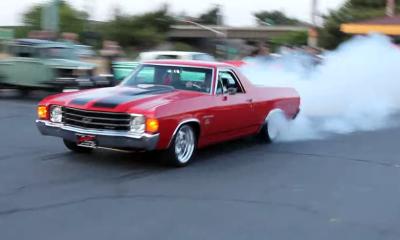 Chevy El Camino 572 Burnout