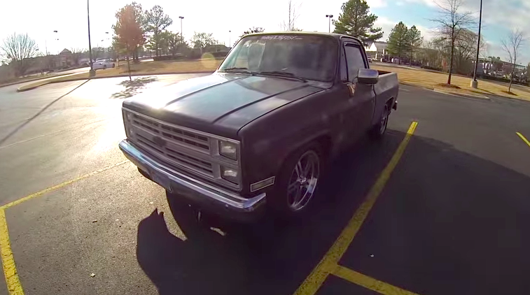 Truck Takes On Trans Am Trash Talk Ensues Chevytv