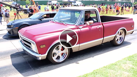 Hey Good Looking Classy Chevy C10 Chases Camaro Chevytv
