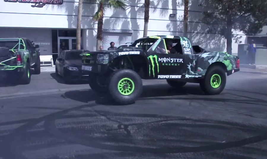 California Truck Invasion >> Invading Goodwood in style with BJ Baldwin's Silverado trophy truck - ChevyTV