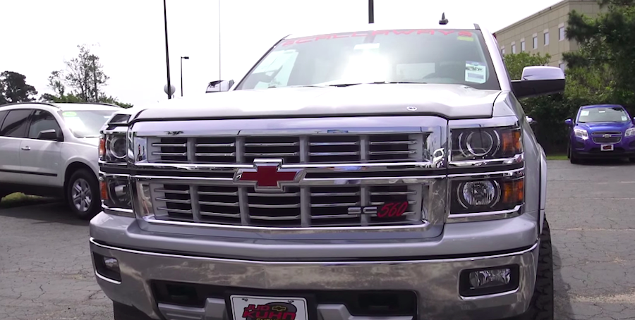 Get up close to the 560-horsepower Rocky Ridge Callaway Silverado ...