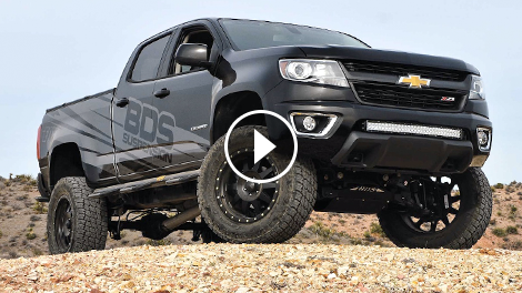 Bds Suspension Chevy Colorado Shake Down Chevytv