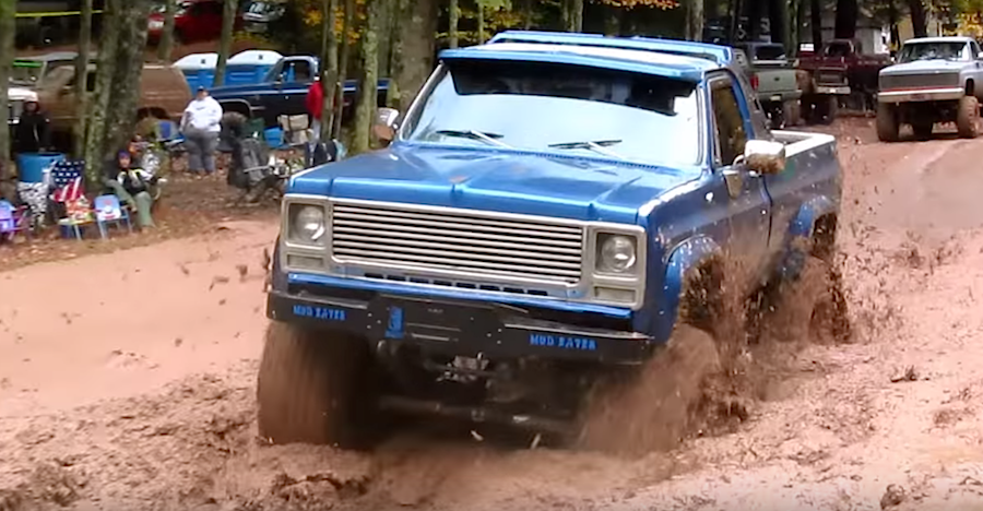 Pair of Chevy mud trucks getting their dirt on - ChevyTV
