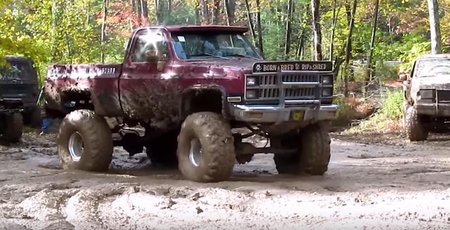 Pair of Chevy mud trucks getting their dirt on - ChevyTV