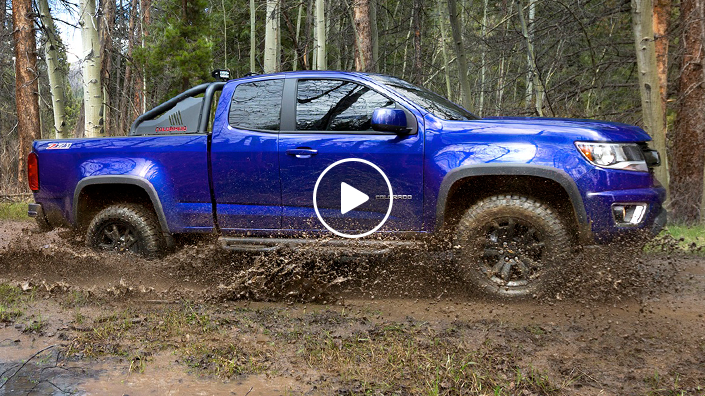 Chevy Colorado Gets Midnight Edition Z71 Trail Boss Chevytv
