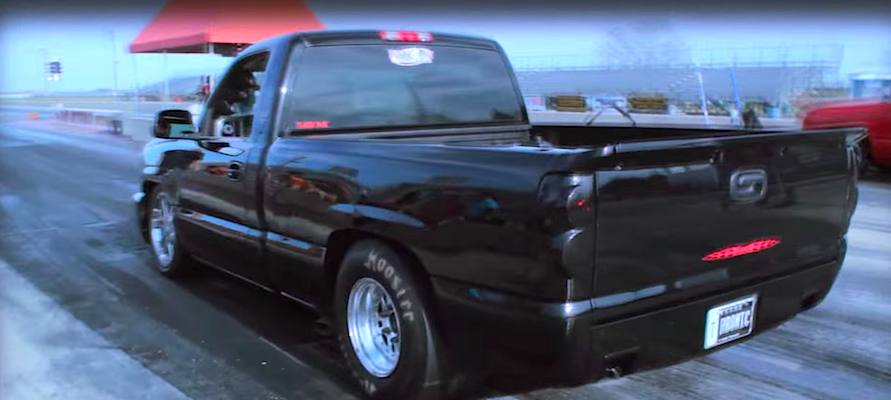 Ls Powered Twin Turbo Silverado Launches Like A Beast