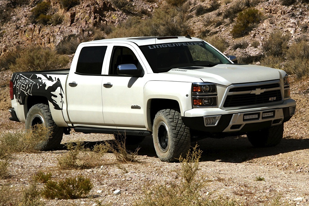 Lingenfelter Silverado Takes To The Trail Chevytv