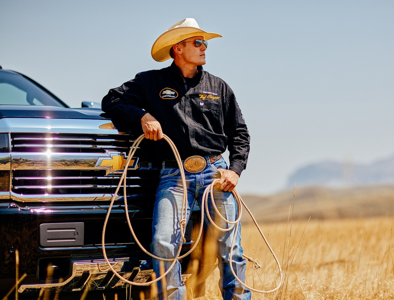 Chevy Silverado teams up with professional rodeo stars ...