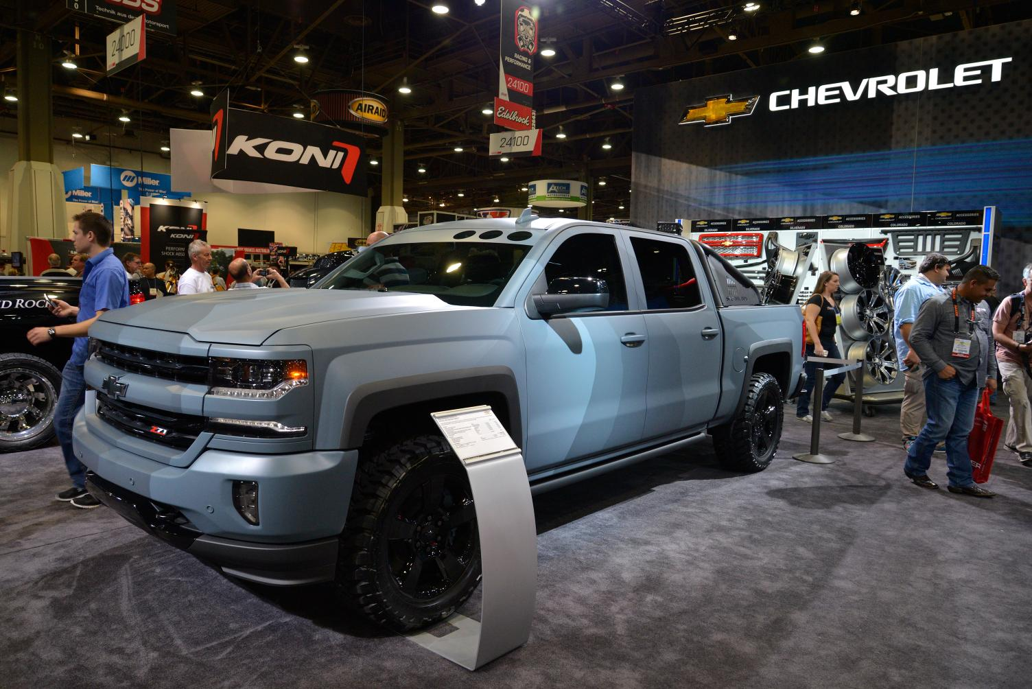 Popular Chevy Shows Silverado Concepts At SEMA 2015  ChevyTV