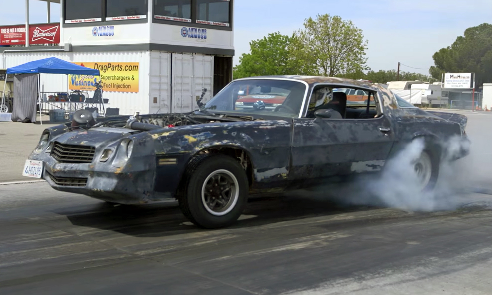 Hot Rod S Bonemaro Hits The Track Chevytv