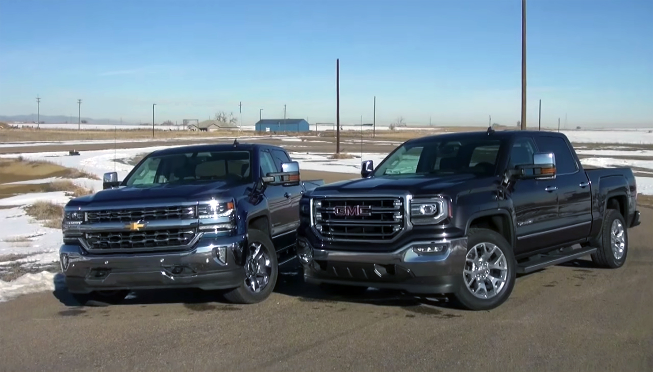 2016 chevy silverado 5 3l vs gmc sierra 6 2l chevytv. Black Bedroom Furniture Sets. Home Design Ideas