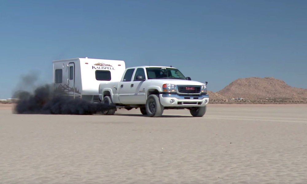Can You Go 140mph While Towing A Trailer Chevytv