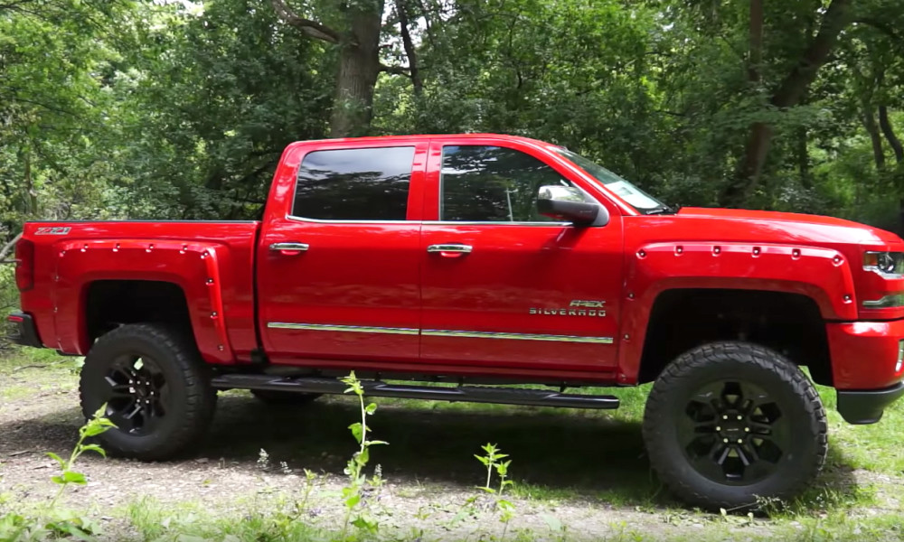 Big Red Silverado Will Make Your Neighbors Jealous Chevytv