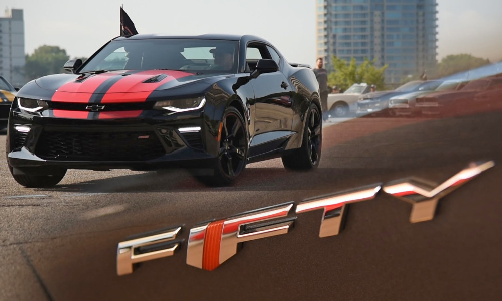 Celebrating 50 Years Of The Camaro At The Woodward Dream