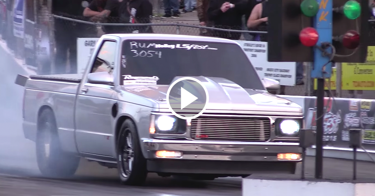 Boosted Ls S10 Is Built For Power And It Shows Chevytv
