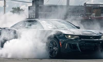 2017 Chevrolet Camaro ZL1 Burnout