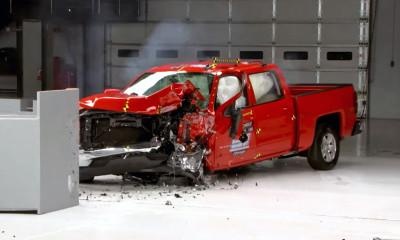2016 Chevrolet Silverado Crash Test