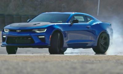 2017 Chevy Camaro SS 1LE Hyper Blue