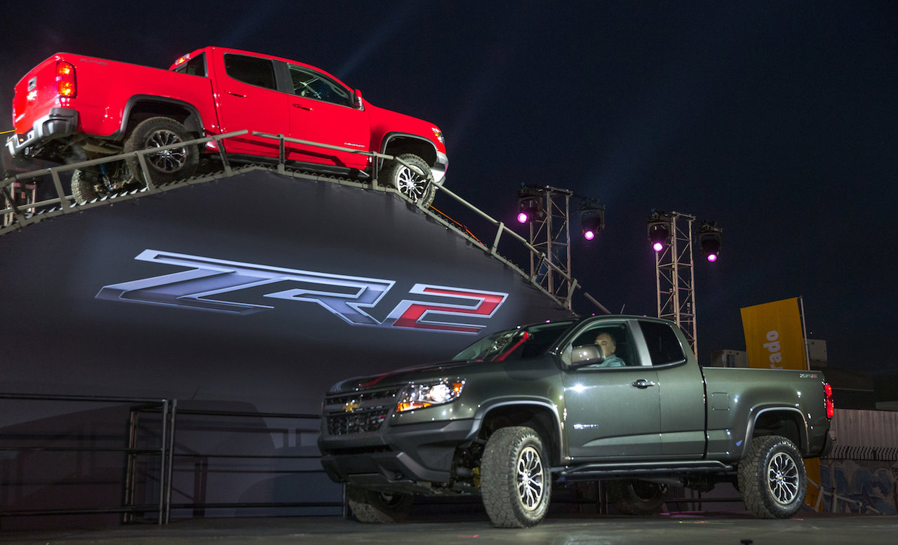 Chevrolet Colorado ZR2 Unveiled In Los Angeles