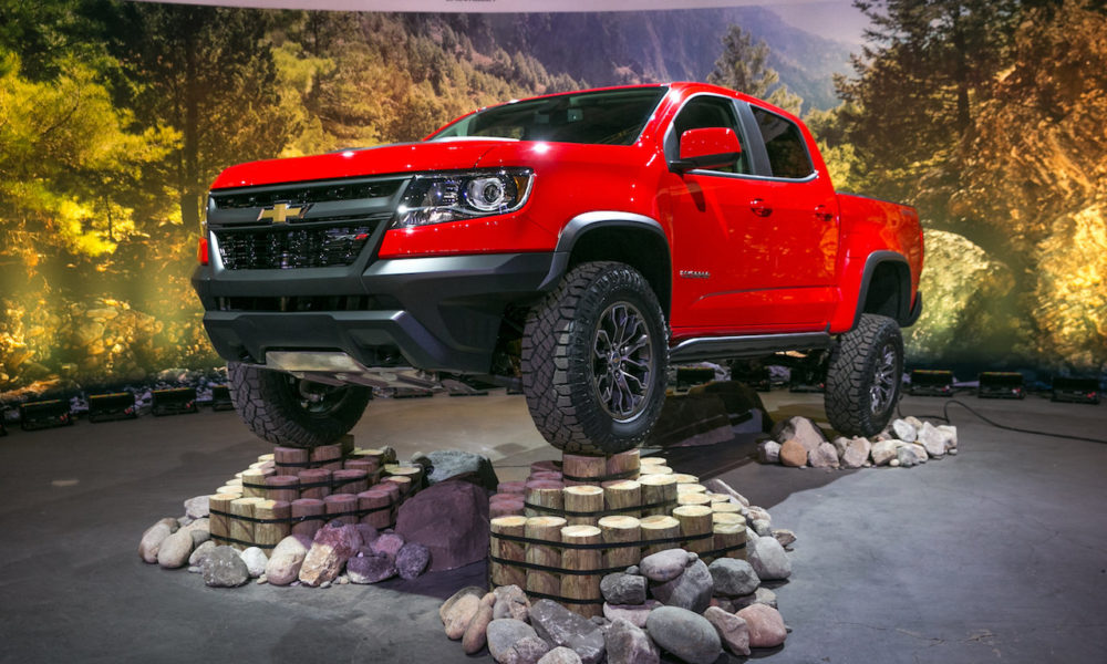 Chevy Colorado Zr2 Set For Adventure In Both Gas And
