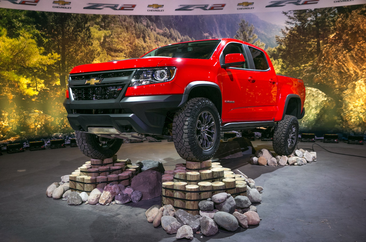 Chevrolet Colorado ZR2 Pickup Unveiled in Los Angeles