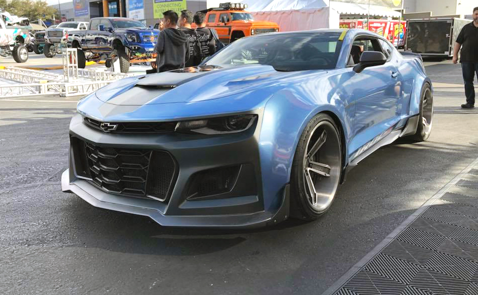 6LE Designs Wows With Modern Day IROC-Z Camaro - ChevyTV