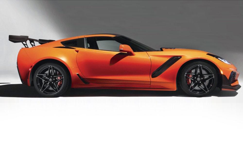 2019 Chevrolet Corvette ZR1 Leaked, Will Boast 750 hp ...