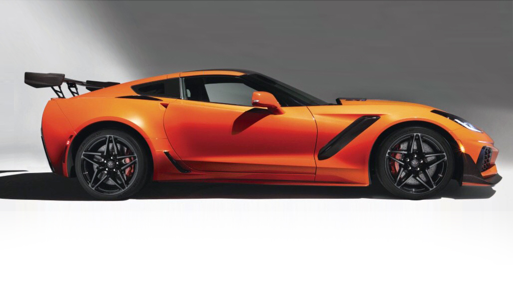 2019 Chevrolet Corvette Zr1 Leaked Will Boast 750 Hp