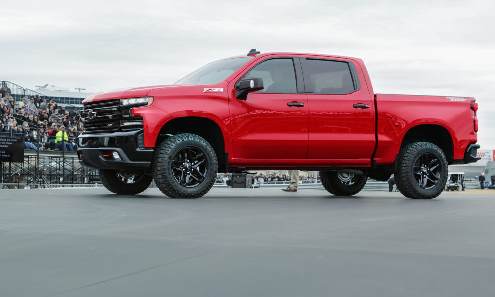 Sleeker 2019 Chevrolet Silverado Makes Surprise Debut In Texas