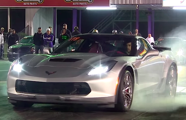 2015 Corvette Z06 Quarter Mile First Pass Chevytv