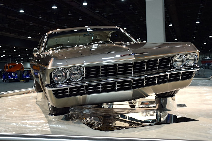 Chip Foose Award Winning Impala Is An Quot Imposter Quot You Want