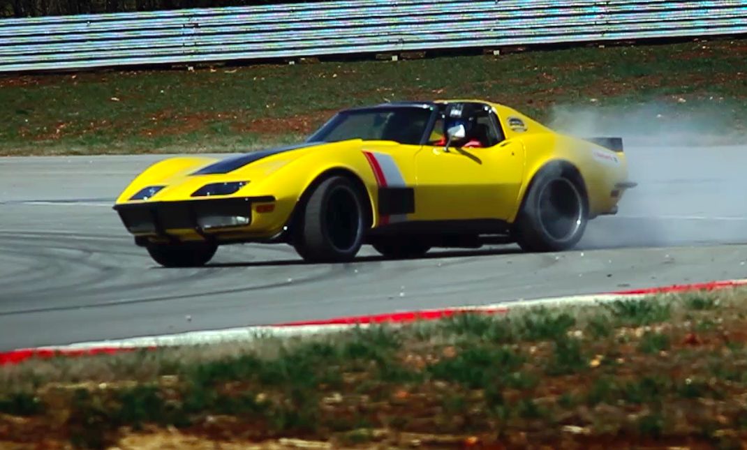 Ridetech S 48 Hour Corvette Stretches It S Legs Chevytv