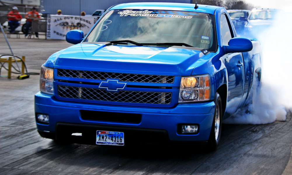 Battle Of The Blues Lsx Silverado Vs Ls1 S10 Chevytv