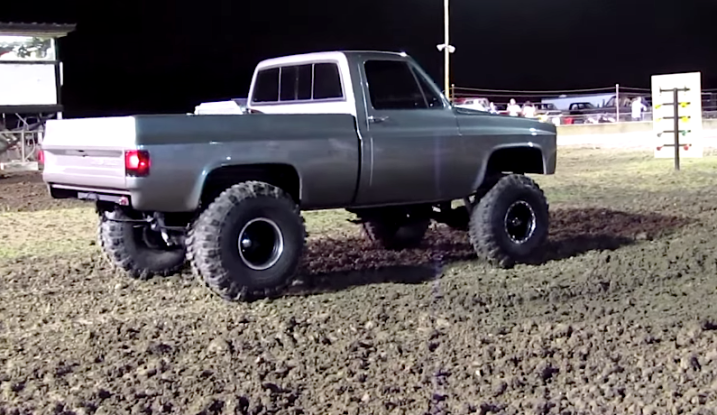 Big Bad Chevy K10 Looks Almost Too Good To Get Dirty Chevytv