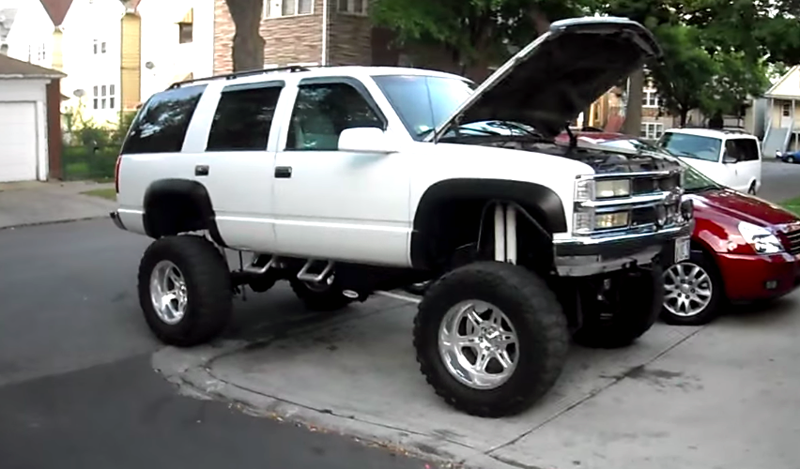 Hook 'em: Lifted Tahoe sounds off - ChevyTV