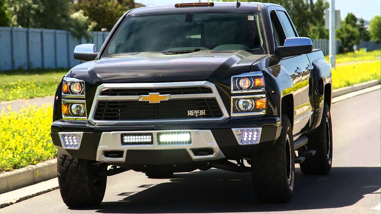 All Chevy black chevy reaper : Lingenfelter's Chevy Silverado Reaper faces the Black Widow - ChevyTV