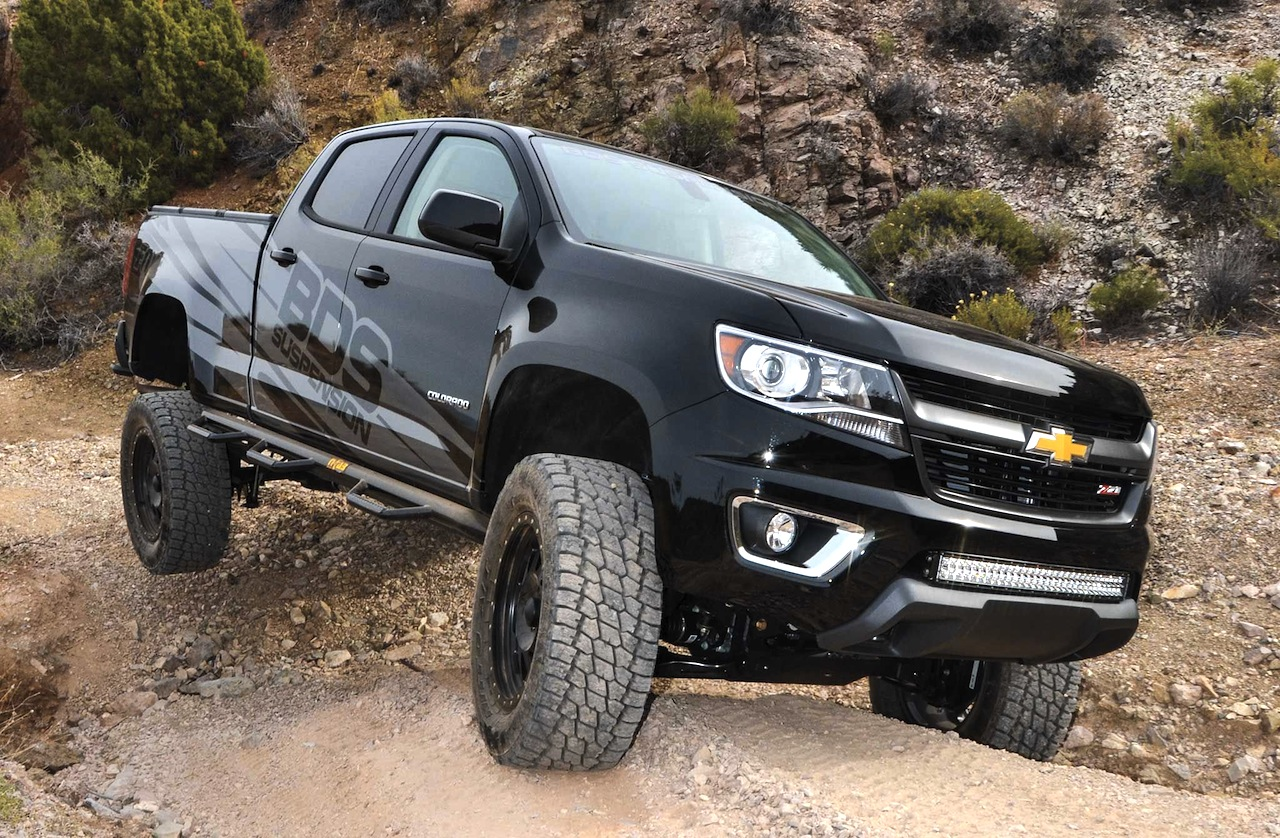 BDS Suspension Chevy Colorado shake down - ChevyTV