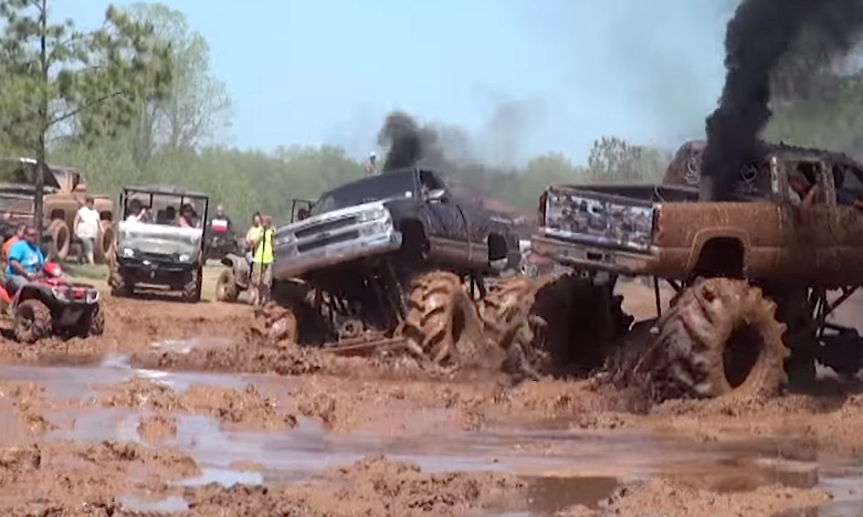 Chevy Mud Truck Blows Turbo In The Muck Chevytv