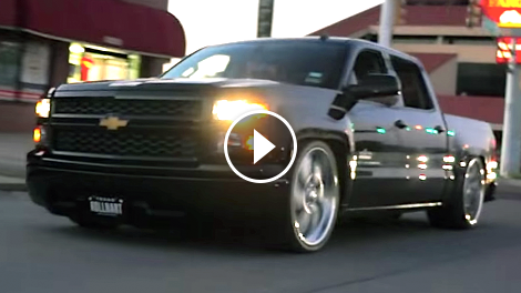 Smooth Silverado Gets Texas Sized Wheels Chevytv