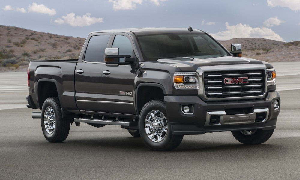 2016 Gmc Sierra Hd Lineup Offers New Advanced