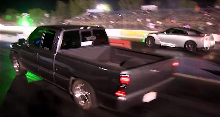 Ten Second Turbo Sierra Faces Gt R And M5 Chevytv