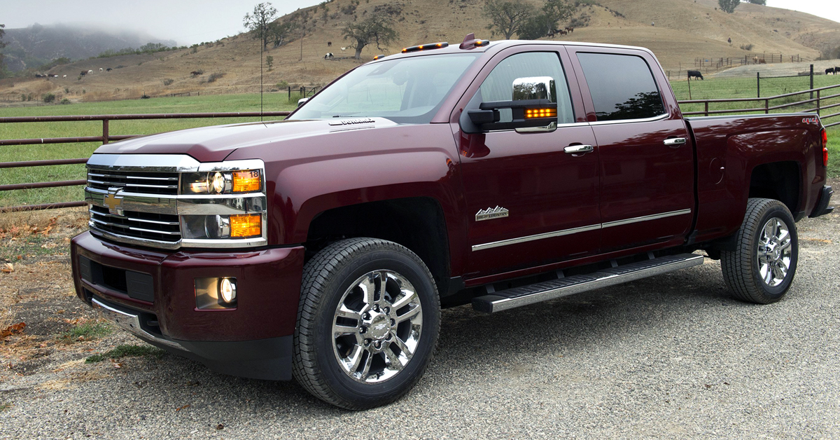 2015 Chevrolet Silverado 2500hd High Country Worth The Price Of Admission Chevytv