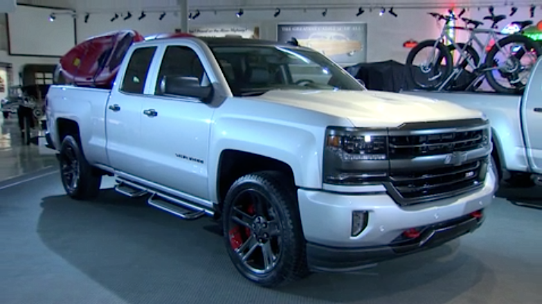 Silverado Redline Shown Ahead Of Sema 2015 Chevytv