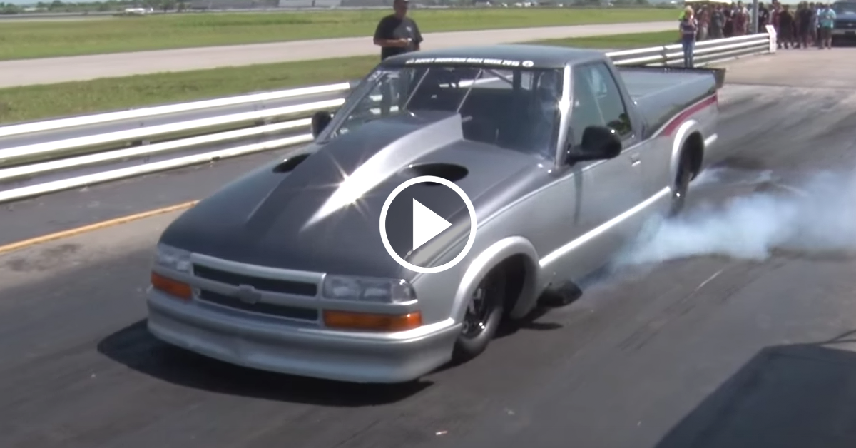 Is This The World S Fastest Chevy S10 Chevytv