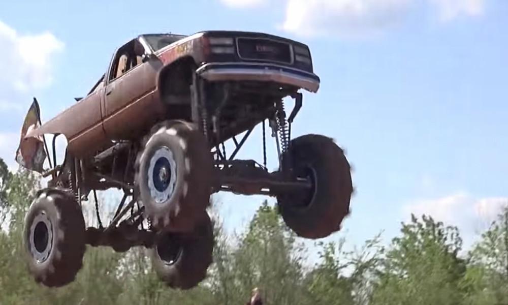 Mud Trucks Get Big Air In Louisiana Chevytv