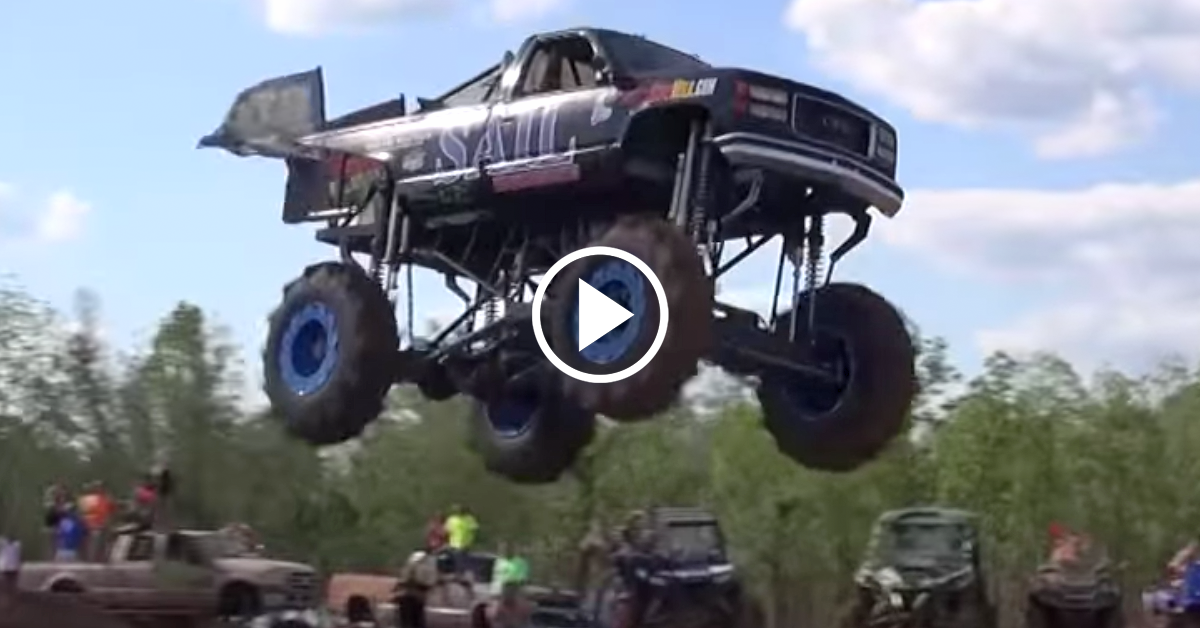 Mud Trucks Get Big Air In Louisiana Chevytv