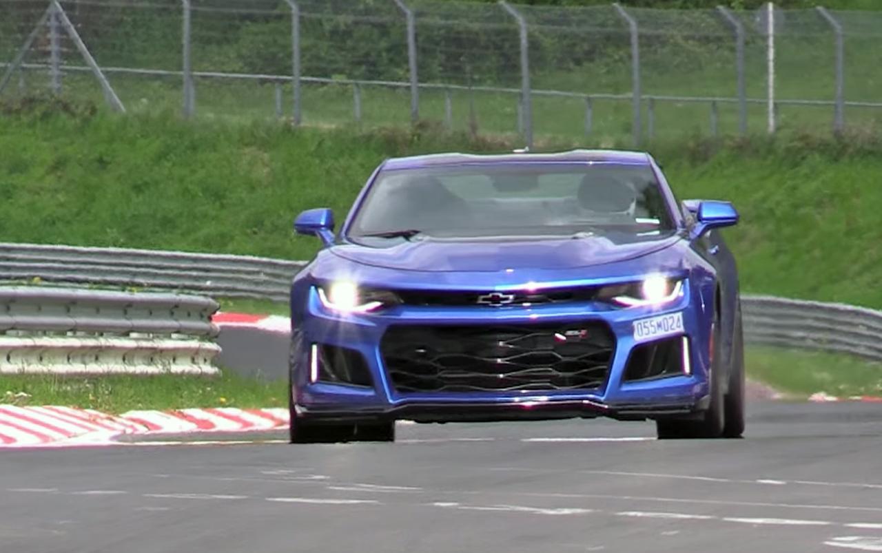 2017 Camaro Zl1 Duo Filmed At The Nurburgring Chevytv